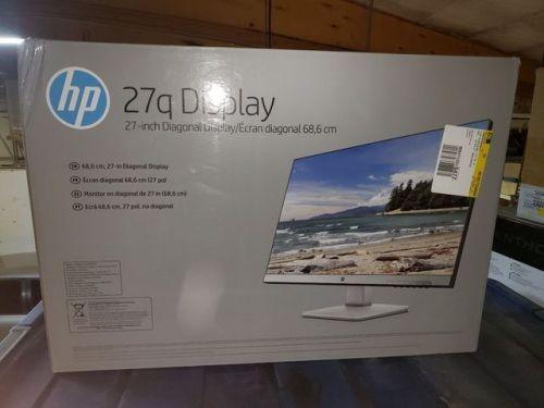 HP 27q 27 inch LED QHD Monitor 2560 x 1440 5 ms 350 cd/m Pike
