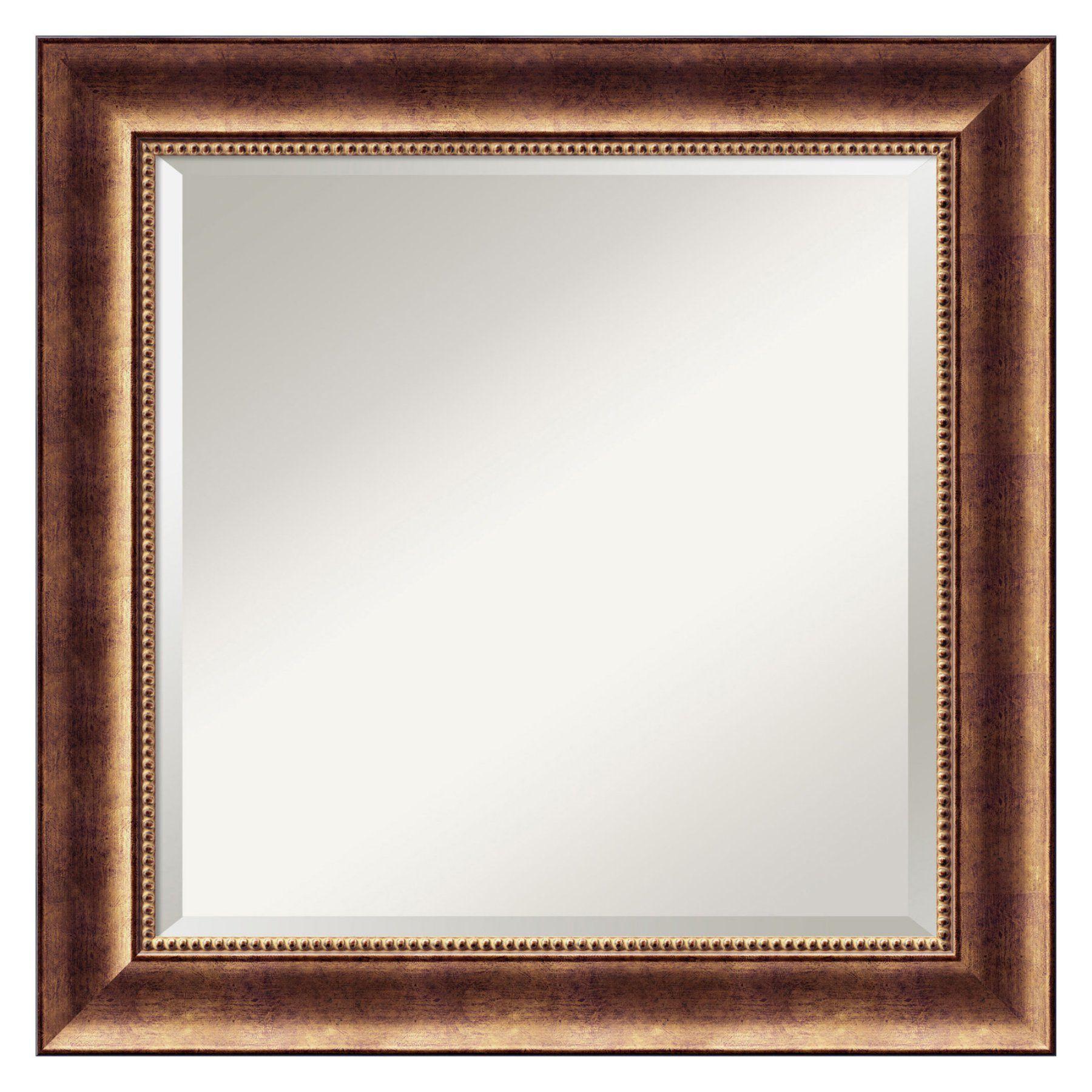 Manhattan Square Wall Mirror - 25.5W x 25.5H in. - DSW01485