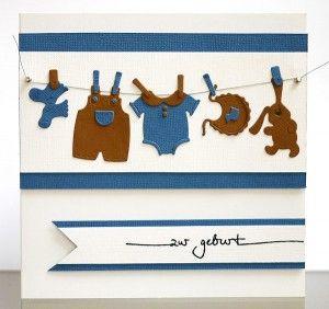 blog.karten-kunst.de - Babyklamotten zur Geburt