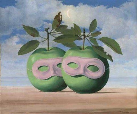 El sacerdote casado' (1961). René Magritte (Bélgica, 1898-1967). | Magritte  pinturas, Pintores surrealistas, René magritte