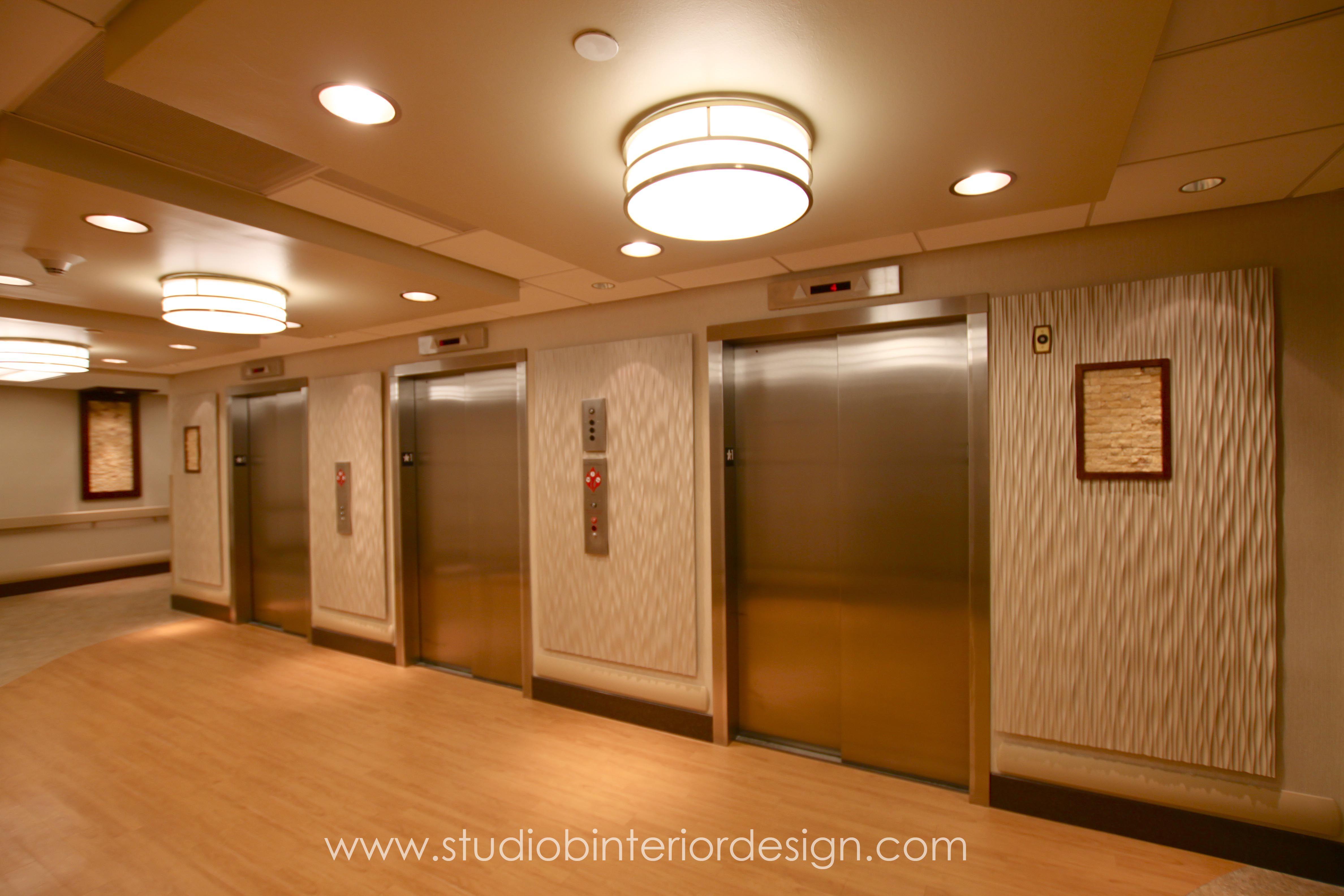 Hospital Elevator Lobby Remodel   Elevator lobby ...
