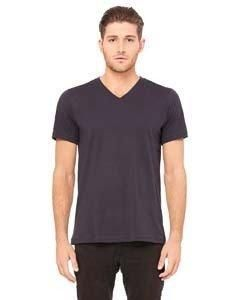 f41e00b5 Bella + Canvas Unisex Jersey Short-Sleeve V-Neck T-Shirt 3005 DARK GREY