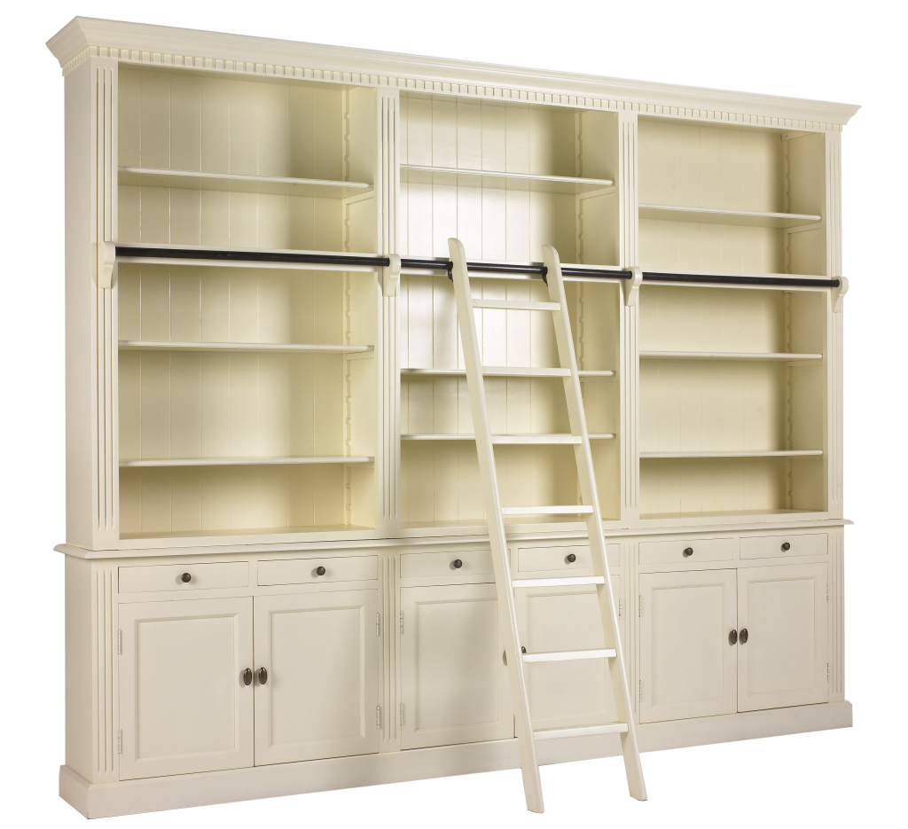 private library een prachtige boekenkast met ladder boekenkast met trap leverbaar in alle ral kleuren private library 1 meter 100x40x240 van 159000