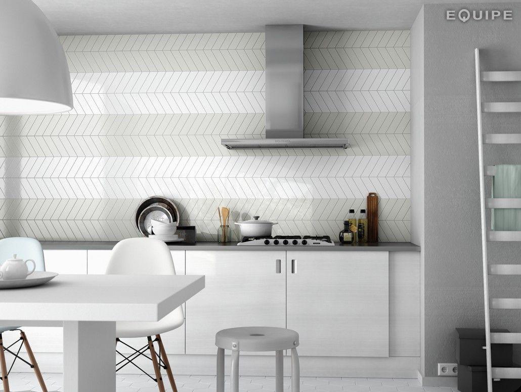 Vanite Salle De Bain Ciot ~ chevronwall mint_white kitchen cuisine pinterest manger salle