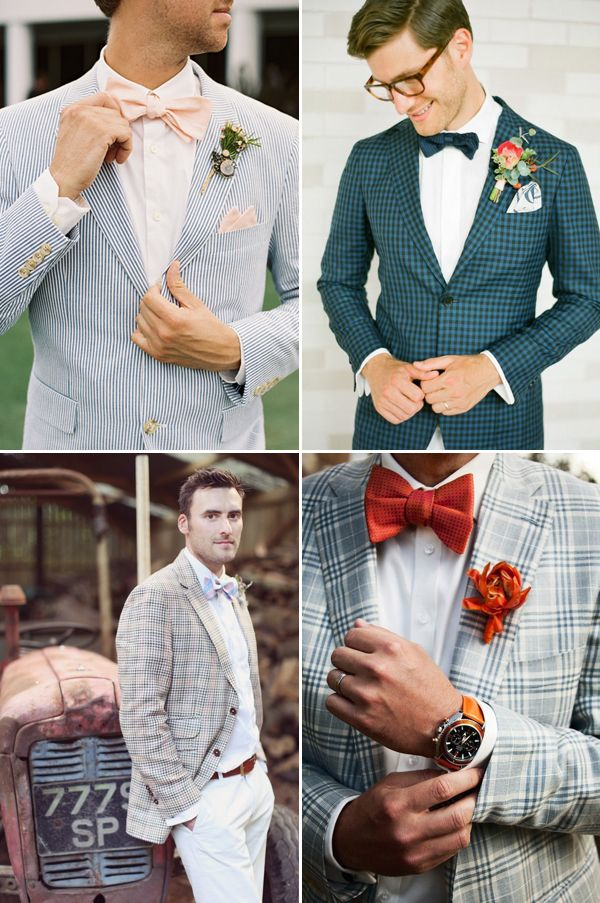 Goodbye Black Suits! 30 Stylish Colored Suits for Modern Grooms ...
