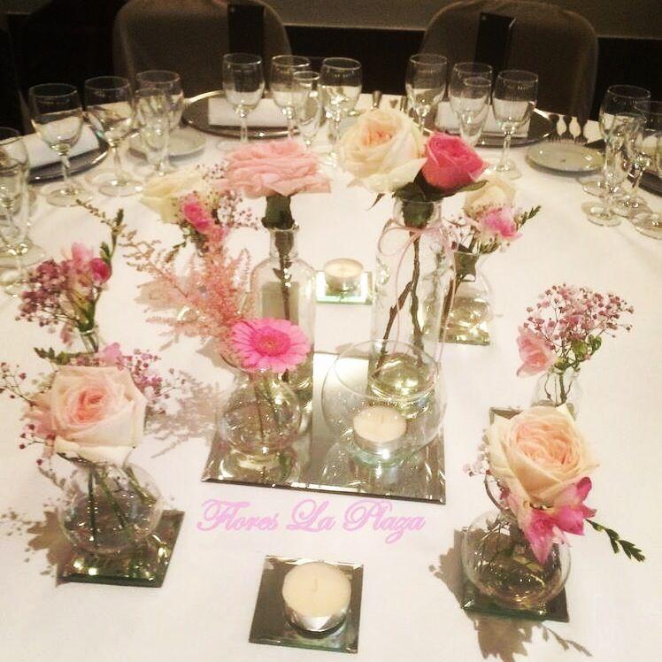 Centros de mesa para banquete de boda Centros de mesa