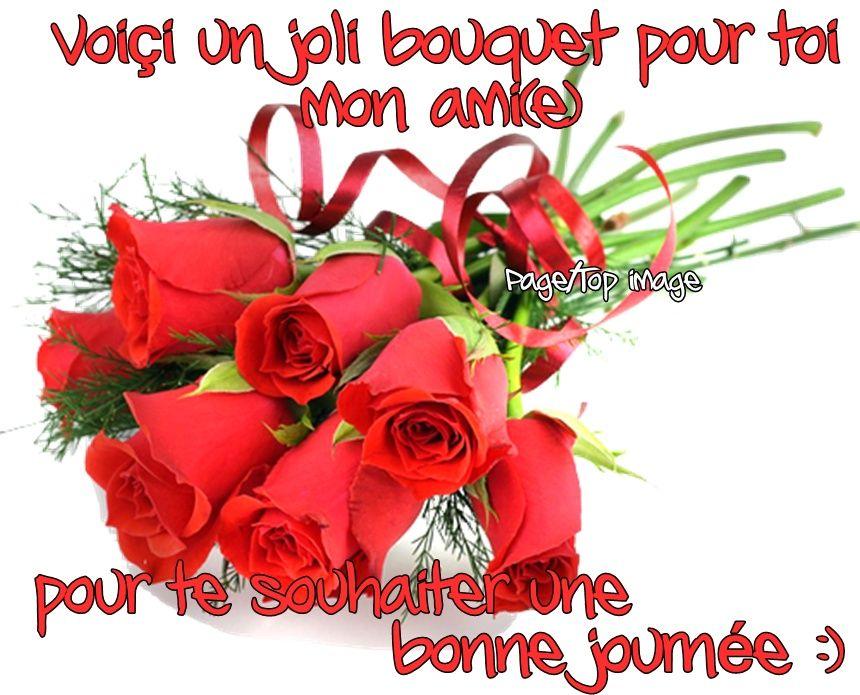 bouquet de fleurs pour une amie