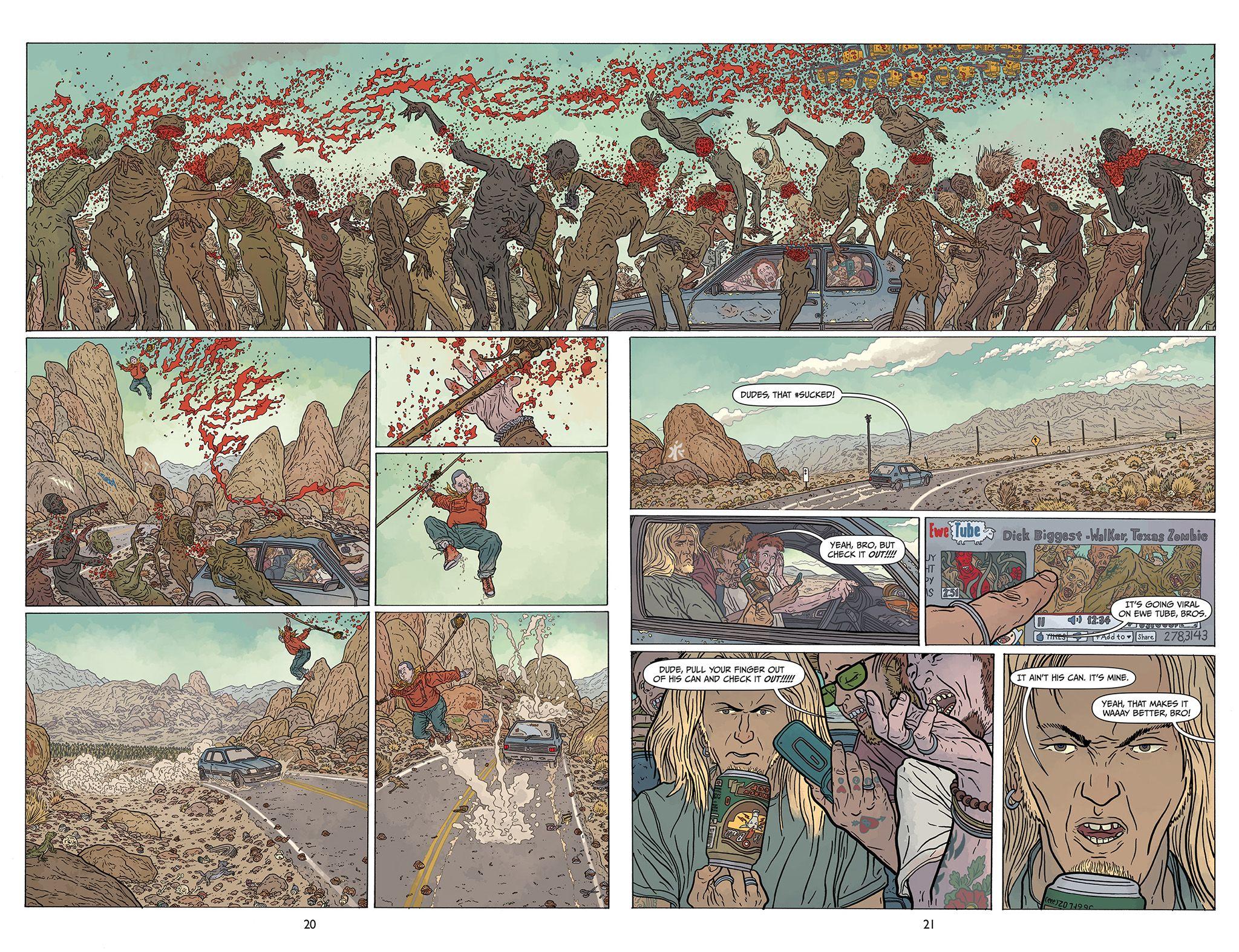 Shaolin Cowboy #01 by Geof Darrow | Fumetti