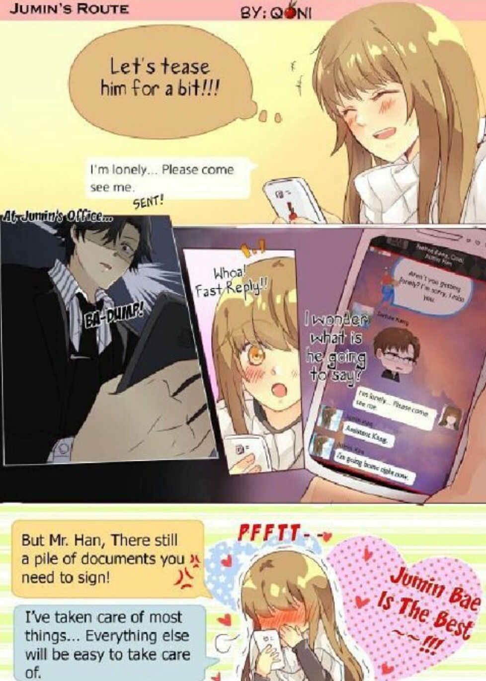 Does this really happen? (With images) Mystic messenger