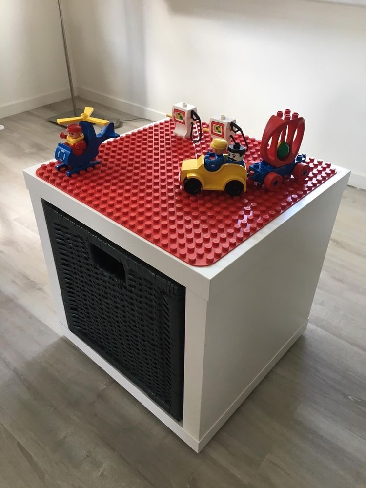 LEGO Duplo play and store box (IKEA Hackers