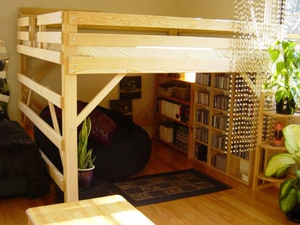 Best 25 adult loft bed ideas on pinterest loft bed - Small beds for adults ...