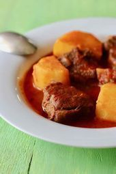 Photo of Carne con papas is a traditional Cuban dish, with tender suc…