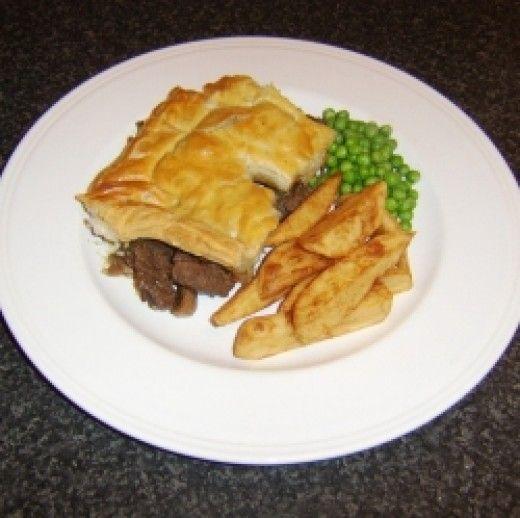 Homemade Steak and Kidney Pie Recipe   Pie recipes, Steak ...