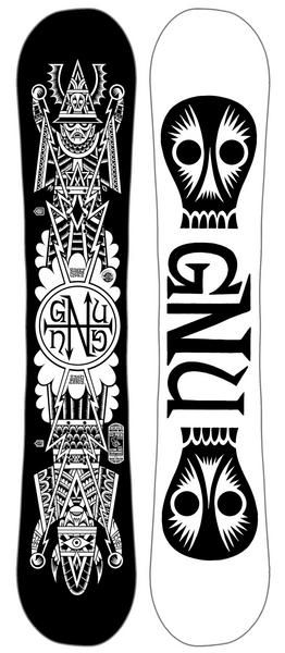 Gnu Riders Choice Snowboard 2016 Club Collection Gnu have used its hybrid C2 BTX shape offering a perfect blend of rocker and camber and then twined with an asymmetric shape with a deeper heel sidecut helping this board become super predictable yet offering a challenge for the rider. #snowboard #snowboarding #gnuriderschoicesnowboard2016clubcollection #allmountain