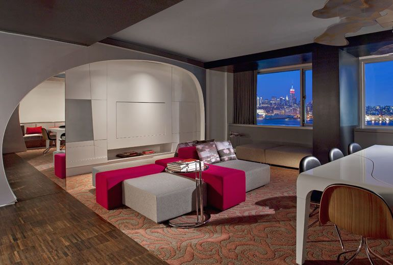 Take A K At The Posh Playground Of W Hoboken New Jersey S Hippest Hotel Located Just 10 Minutes From York City