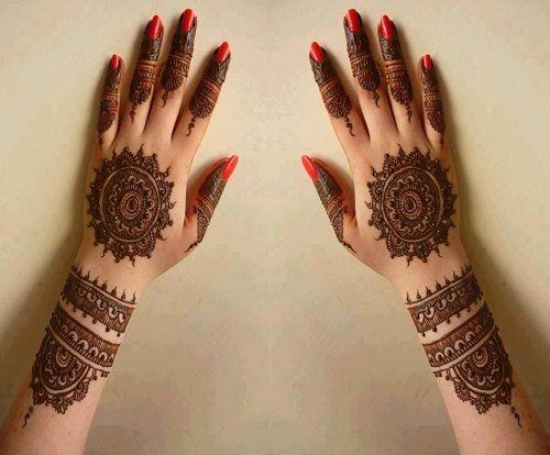 Bridal Mehndi Gta : Bombay style bridal mehndi designs g heena