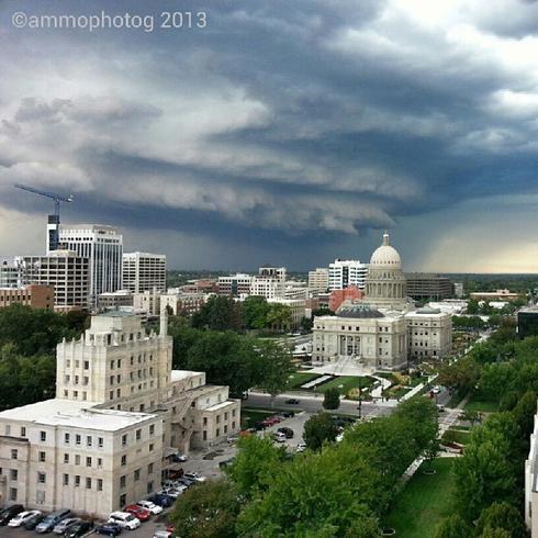 Boise Idaho storm | WEATHER | Boise river, Boise city, Boise