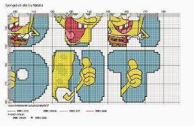 Dinha Ponto Cruz: Monograma calça quadrada!