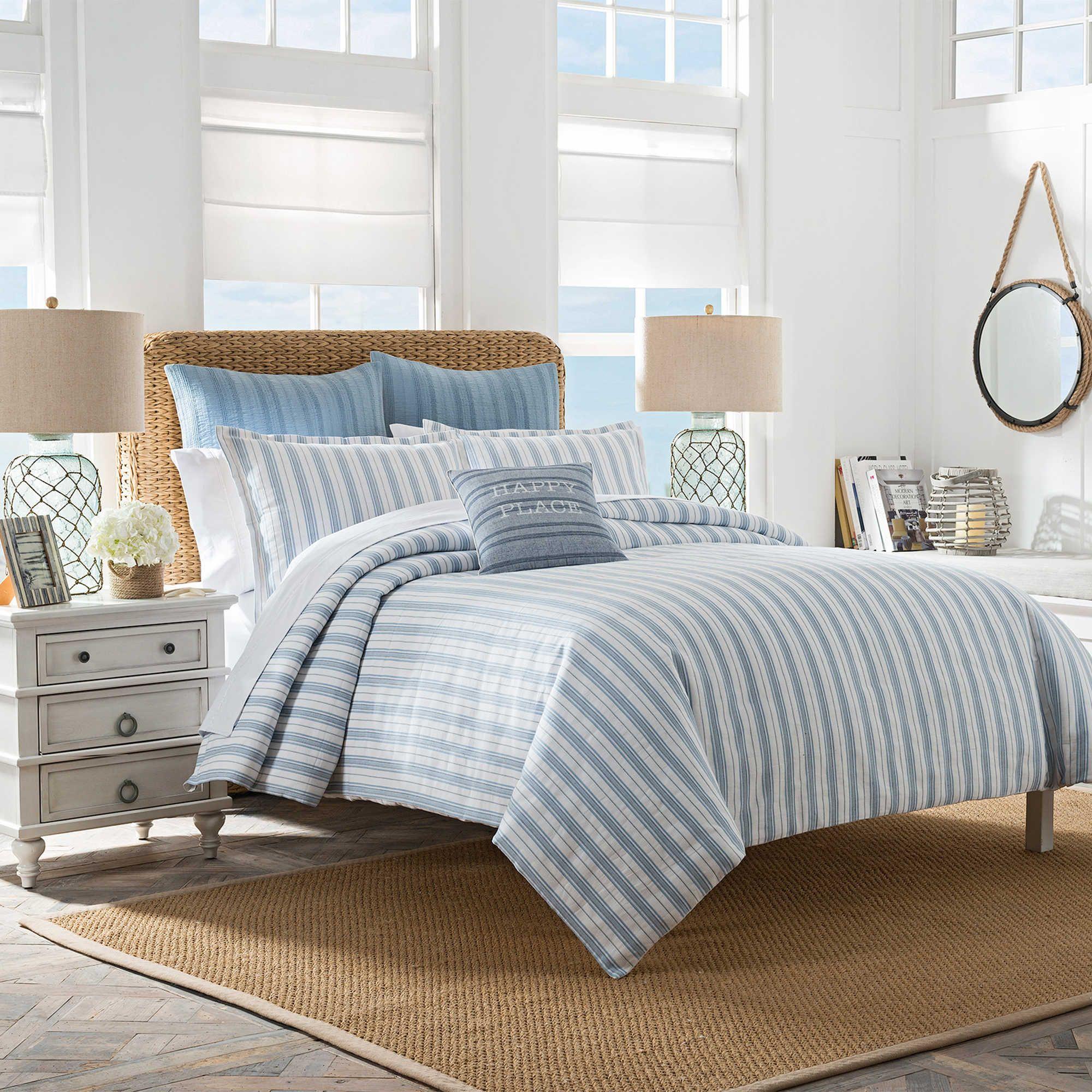 Shop Coastal Nautical Bedding Collections Bed Decor Striped
