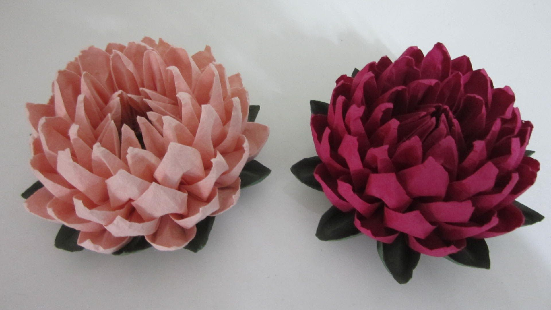 Tutorial Simple And Easy To Make Lotus Flower Youtube
