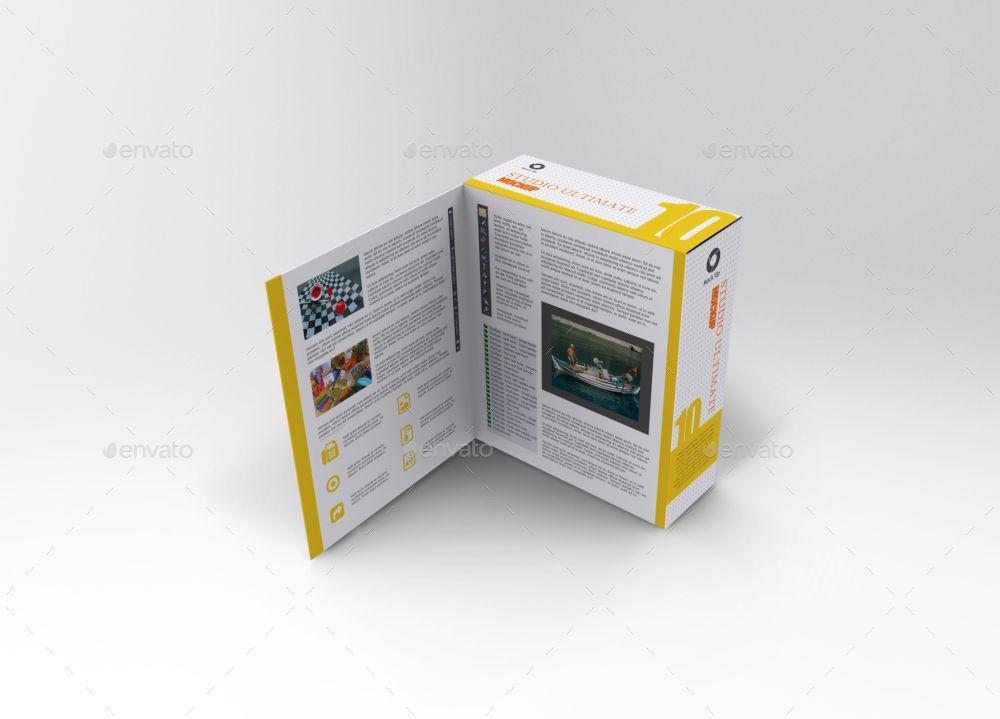 Download Software Book Style Box Mockup Box Mockup Fashion Box Packaging Mockup