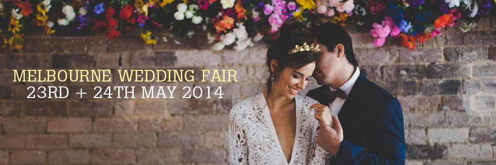 'One Fine Day' Wedding Fair - Melbourne.  Pinterest in real life...!??!! :-)