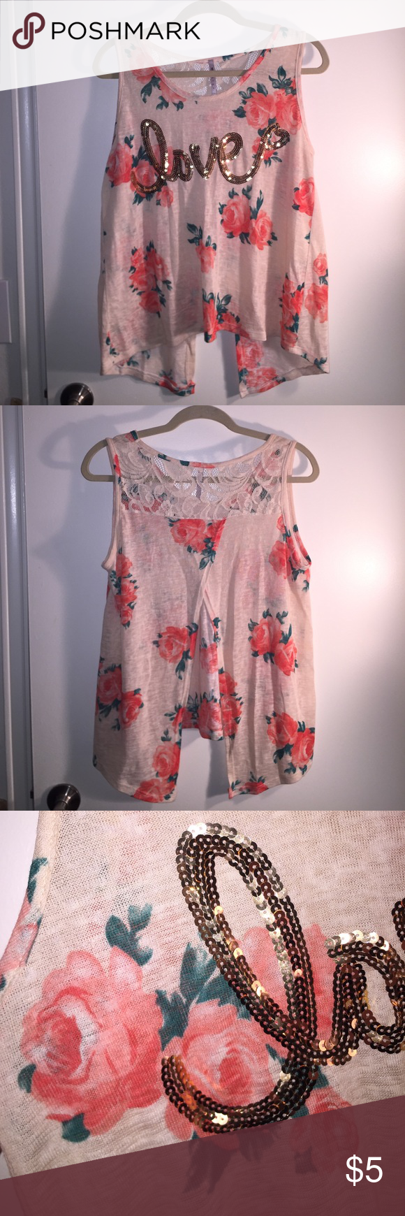 Floral love top in my posh picks pinterest floral tops