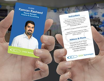 Check Out New Work On My Behance Portfolio Employee Id Card