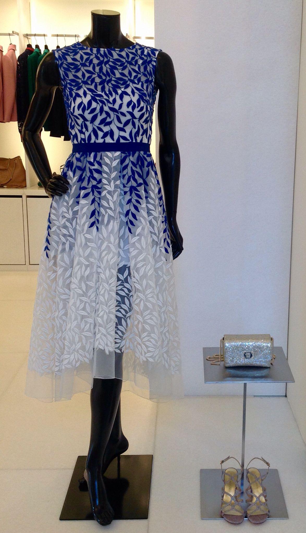 Dress by Christian Pellizzari, bag by Jimmy Choo and shoes by Stuart Weitzman at #ilduomonovara