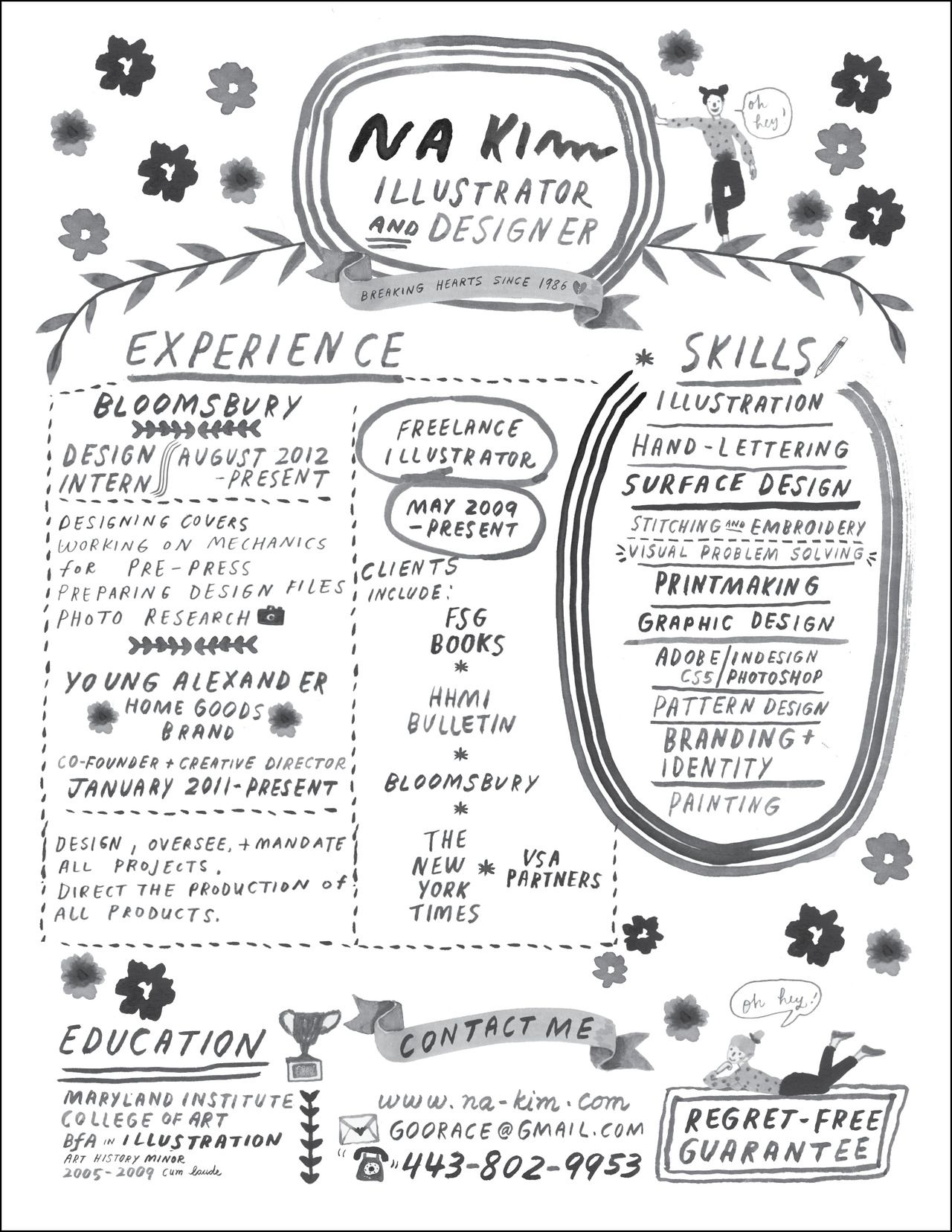 hand lettered resume design pinterest creativity creative