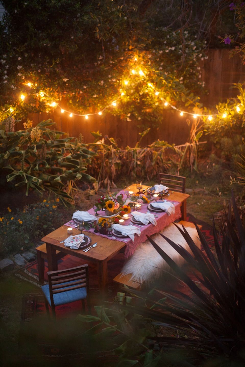 outdoor night lights on san francisco night picnic night picnic outdoor dinner backyard bbq party outdoor dinner