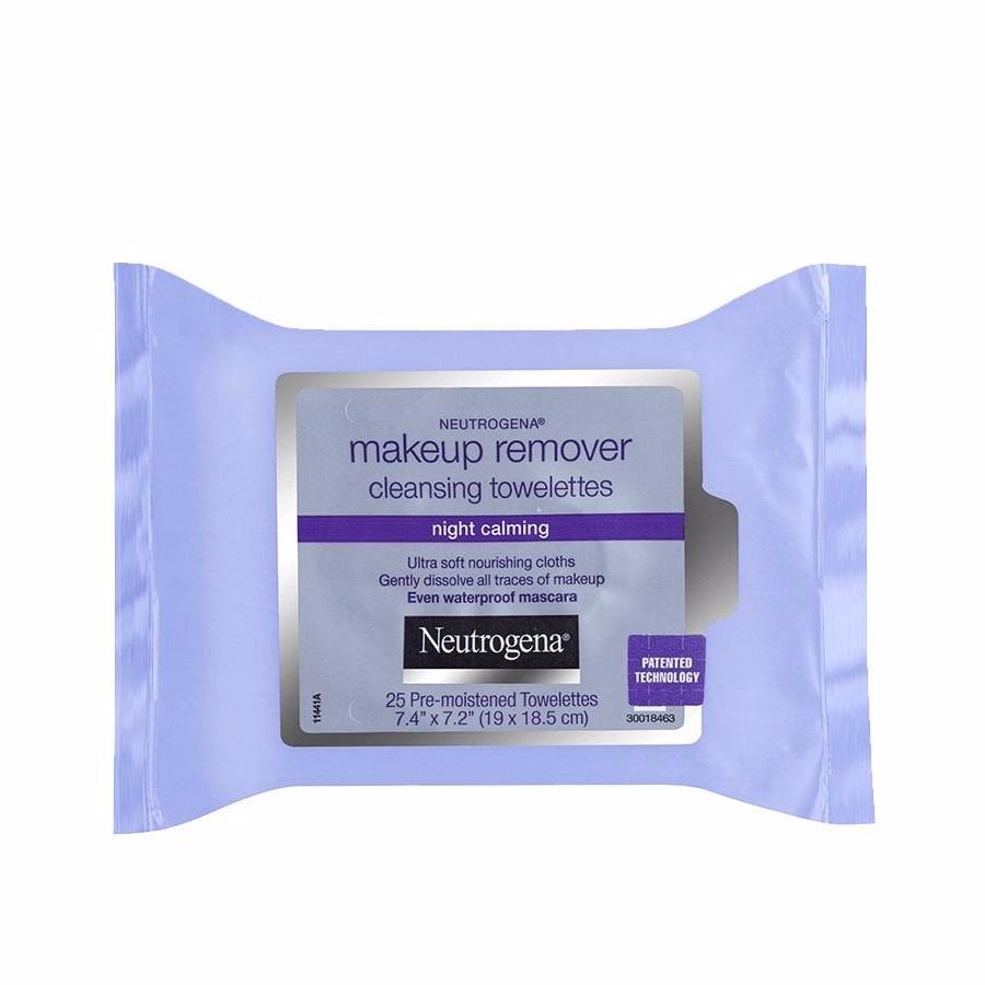 Neutrogena Night Calm MakeUp Remover Wipes 25 Pack в 2020 г