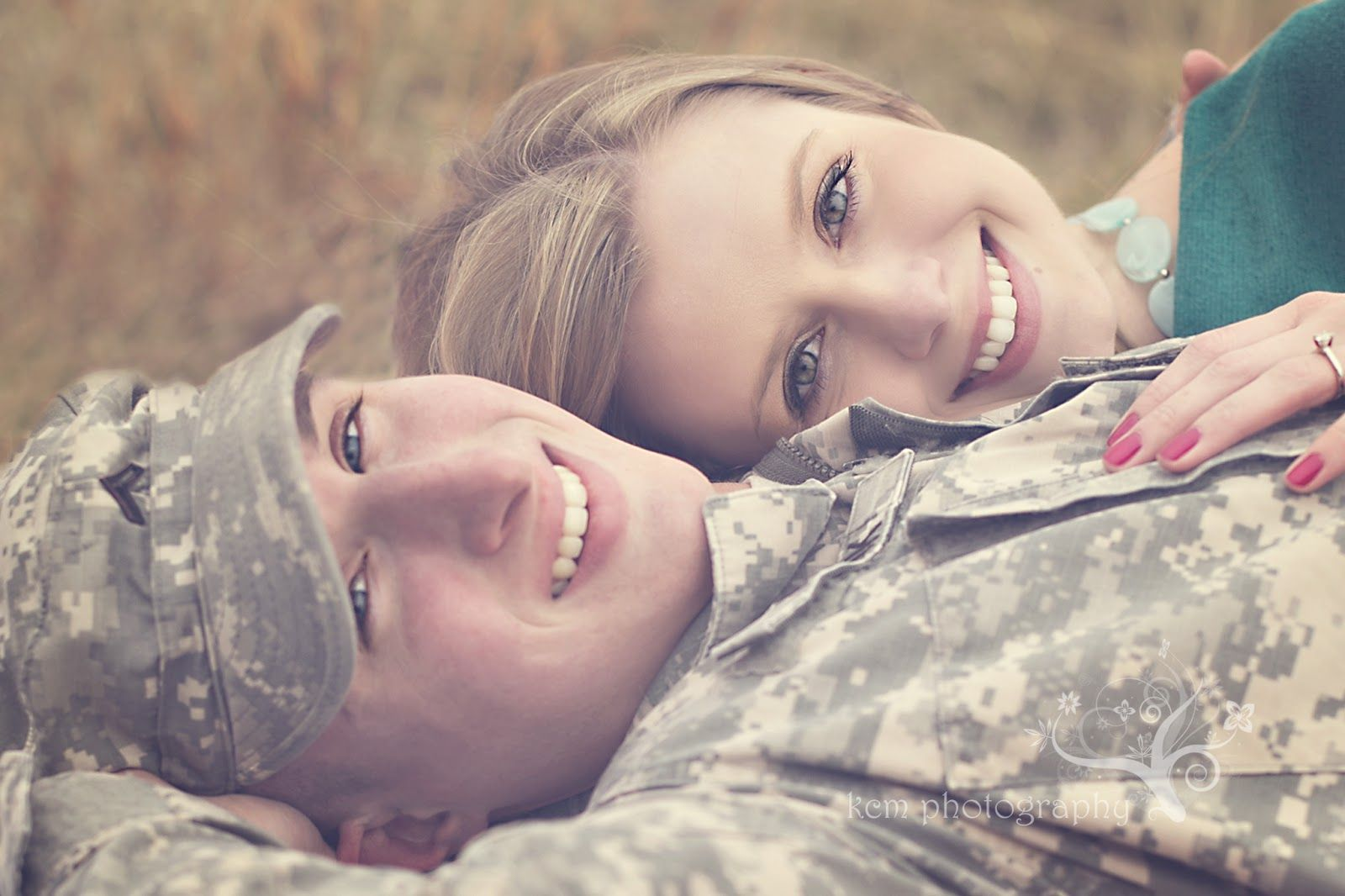 Wedding Gifts For Military Couples: Field, Army, Military, Engagement Photography