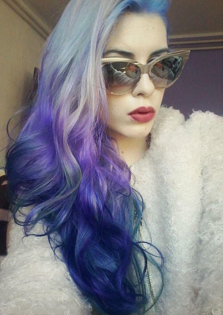 b770614faaed marymisantropic: Hair: Manic panic, Dior sunglasses from Shade station: