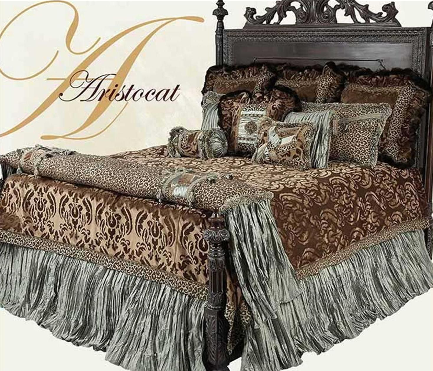 Best Gorgeous Luxury High End Bedding And Accent Pillows By 640 x 480