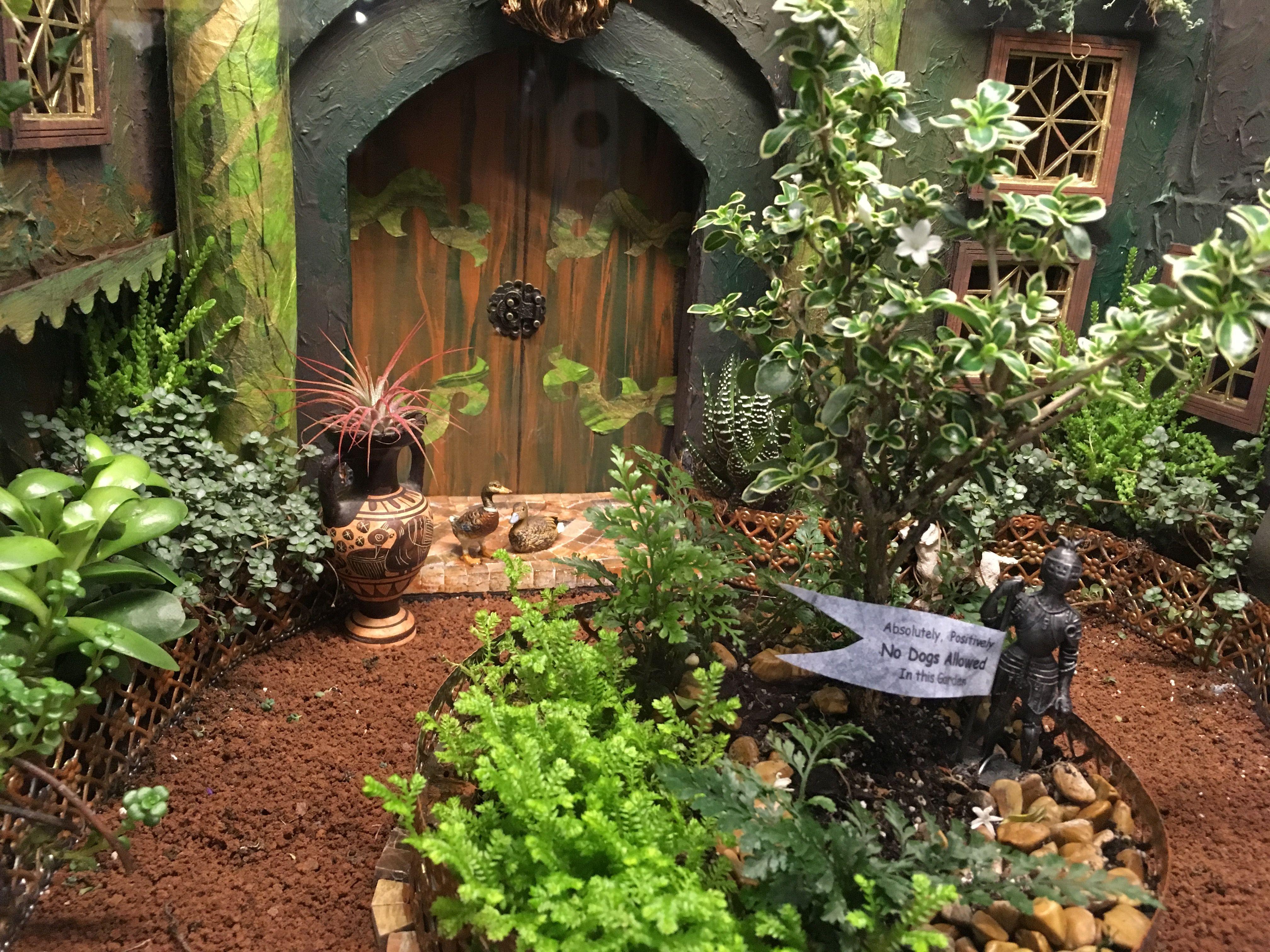Miniature exhibit, Philadelphia flower show 2019 Flower