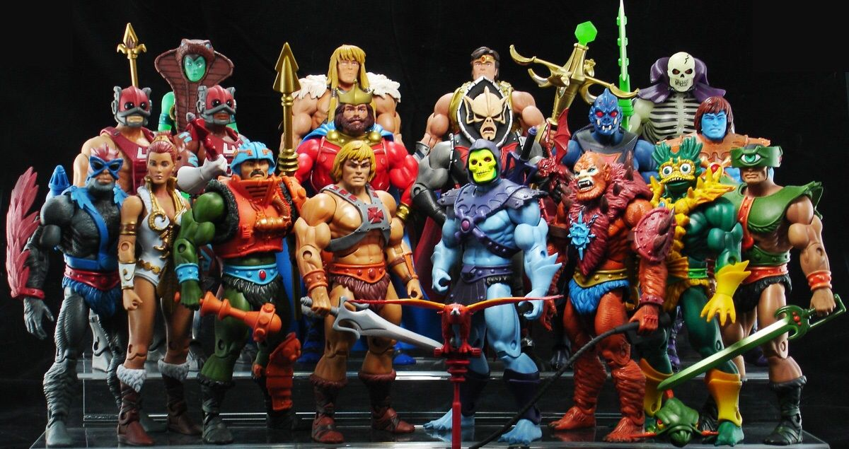 Masters Of The Universe Classics He Man Action Figures