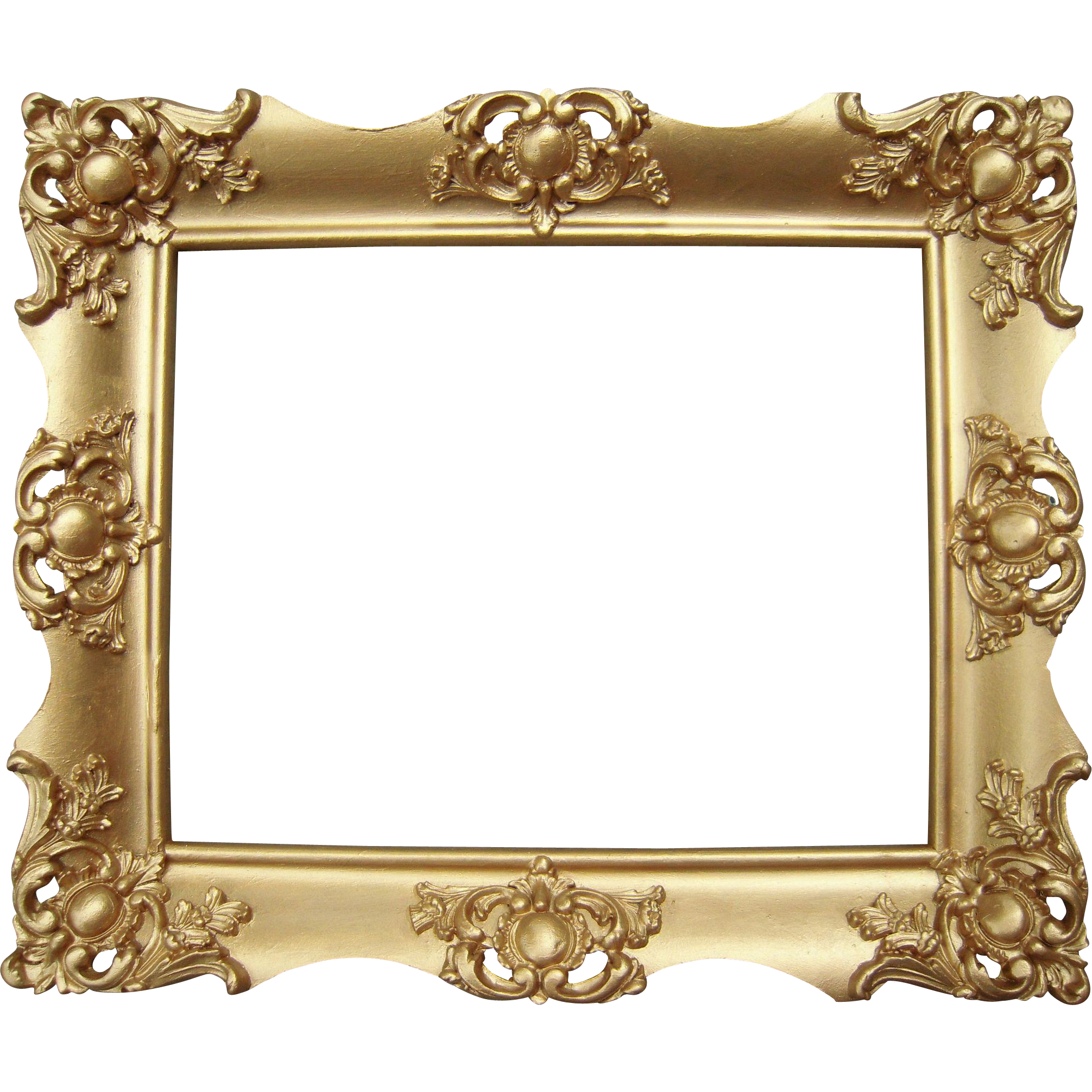 Ornate Gold Victorian Picture Frame 8 X 10