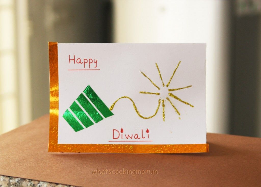 diwali handmade cards  handmade diwali greeting cards