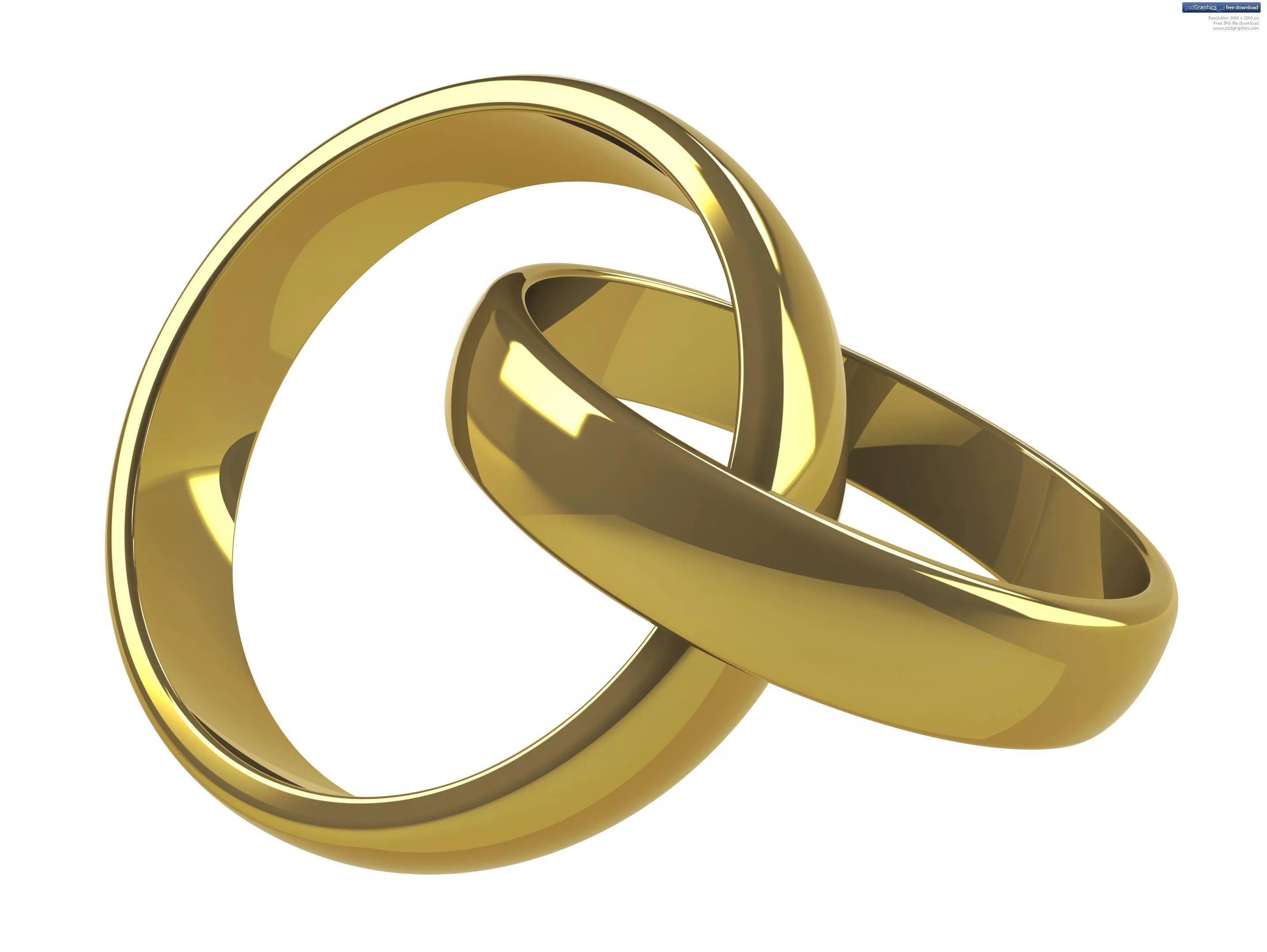 Аниме, картинки свадебные кольца на белом фоне