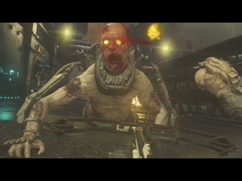 Exo Zombies Explosives Mk 20 Op Call Of Duty Advanced Warfare Gameplay Mode