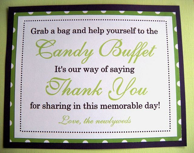 Super Wording For Candy Buffet Sign Candy Buffet Candy Buffet Interior Design Ideas Tzicisoteloinfo