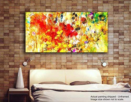 Dipinti Per Soggiorno : Tamatina modern art tela dipinti tulipani gialli dipinto