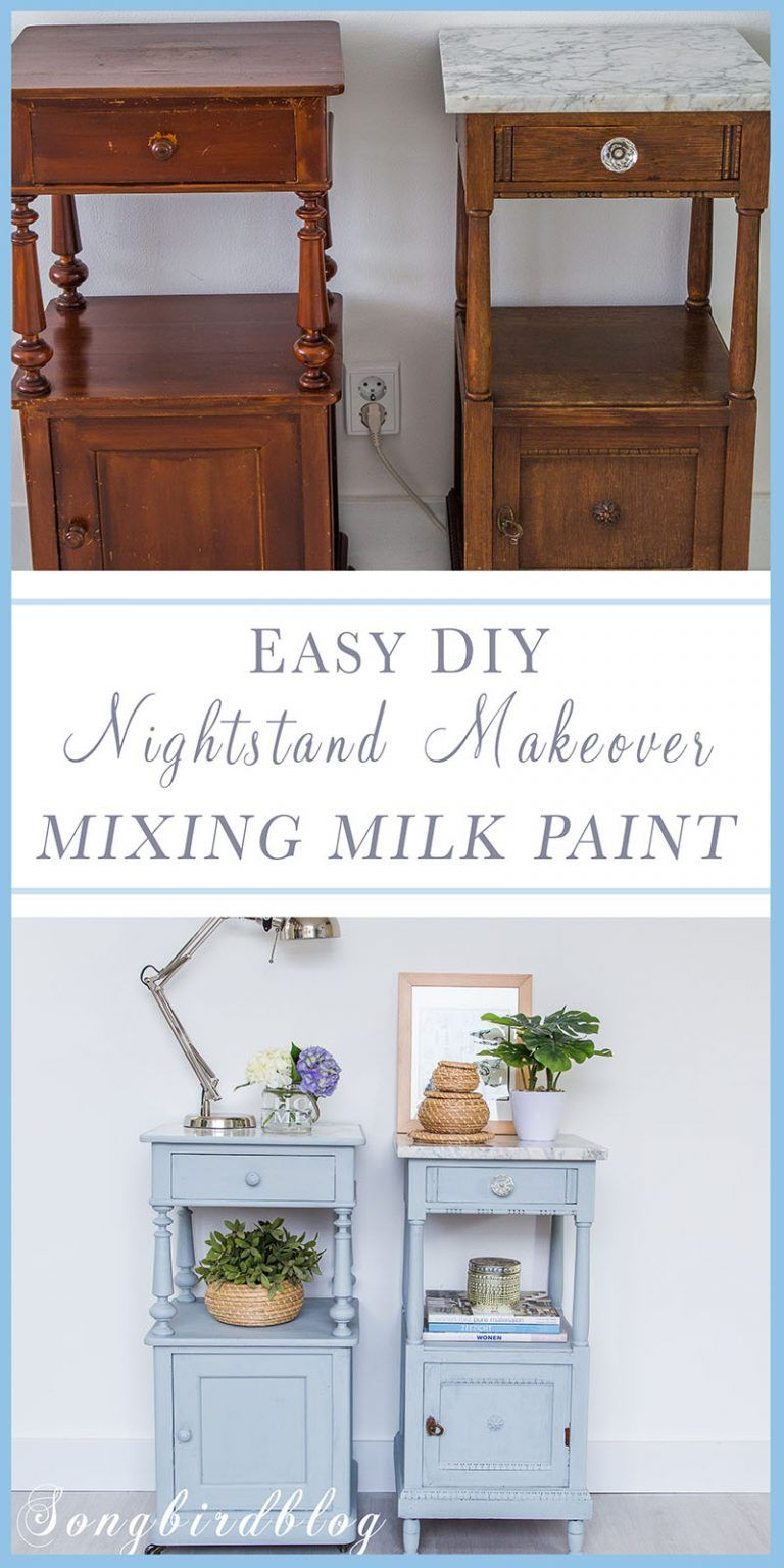DIY night stand makeover [making a matching pair