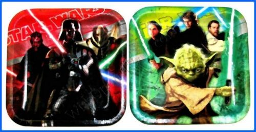 Star Wars Generations: 8 Shaped Dinner Plates