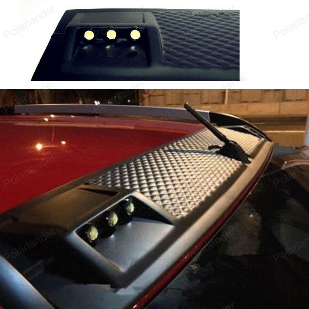 Auto Accessories Car Styling For Ford Ranger T6 T7 6 Led Abs Daytime Lights Decorative Roof Plate Light Affiliate Ford Ranger Roof Light Car Accessories