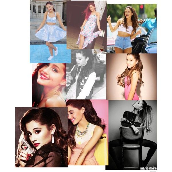 ariana grande by juliarw06 on Polyvore featuring polyvore and beauty