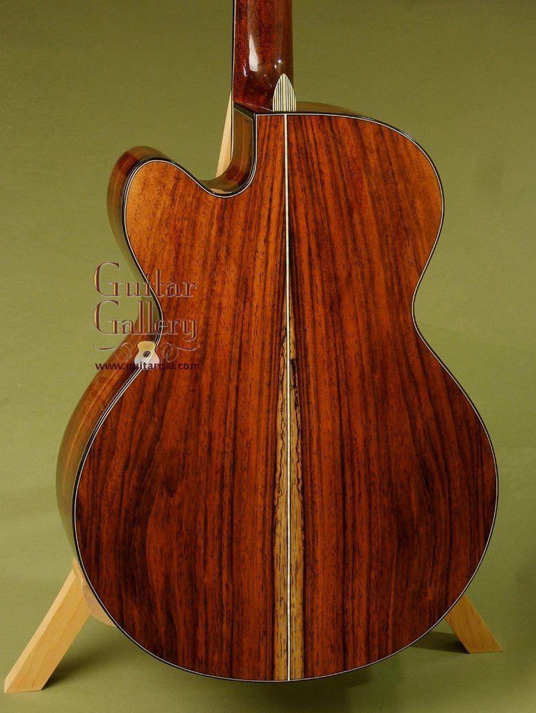 Maingard Guitar Brazilian Rosewood Om Cutaway Guitar Custom Acoustic Guitars Rosewood