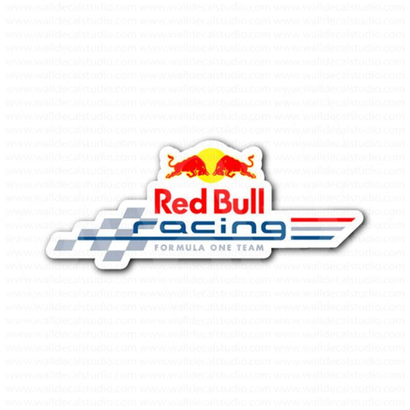 Red Bull Racing F1 Racing Team Sticker Automotive Stickers