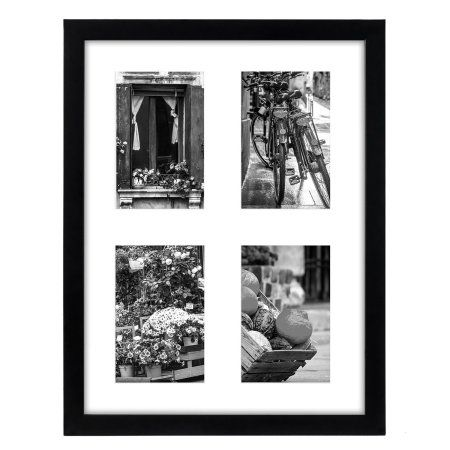 Collage Picture Frame 12x16 - Displays Four 4x6 Inch Pictures with ...